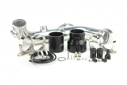 BMW 135i/335i 2007-2010 Synchronic Charge Pipe Kit Polished - NO BOV