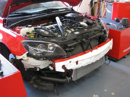 Mazdaspeed3 FMIC Kit for 07 - 09 Mazdaspeed 3