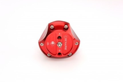 R55V Trident Synchronic Radial BOV (Red) No Flanges