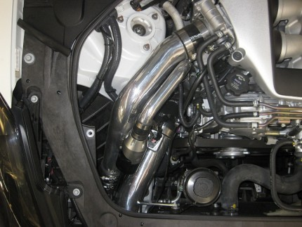 GTR R35 IC Piping Kit w/ Twin Synchronic BOV