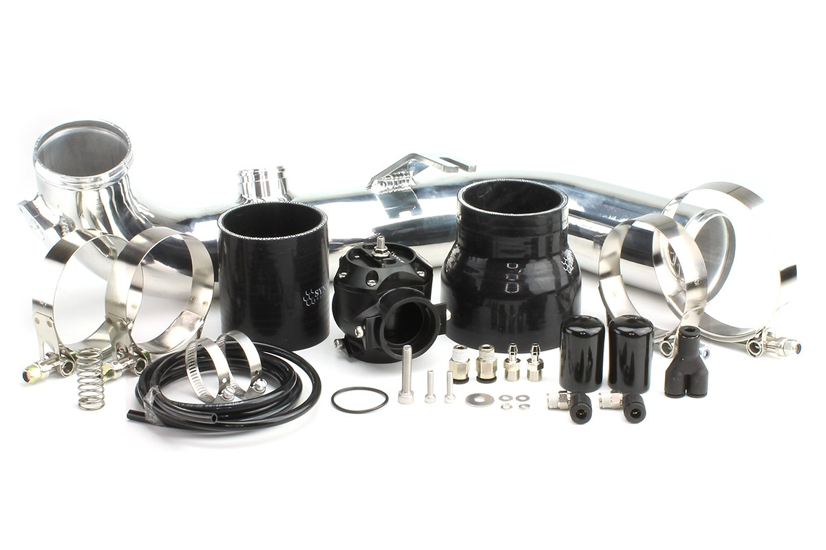 BMW 135i/335i 2007-2010 Synchronic DV Kit with Polished Charge Pipe