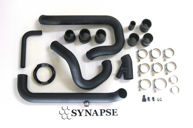 Evo 8/9 IC Pipe Kit for Small Battery - Black Powdercoat