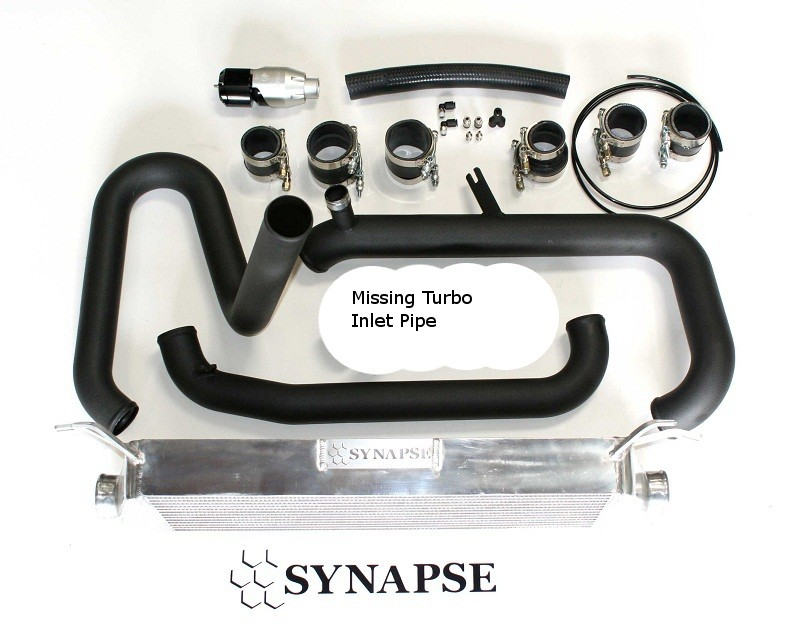 Mazdaspeed3 FMIC Kit for 07 - 09 Mazdaspeed 3 (Missing TIP)