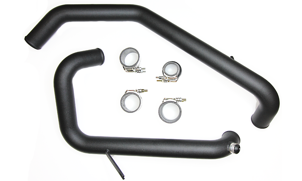 Evo X GSR Speed Density IC Pipe Kit - Black Powdercoat (GSR ONLY!)