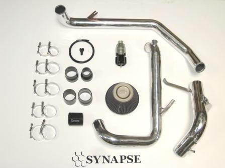 Evo X IC Pipe Kit with BOV - Polished Aluminum
