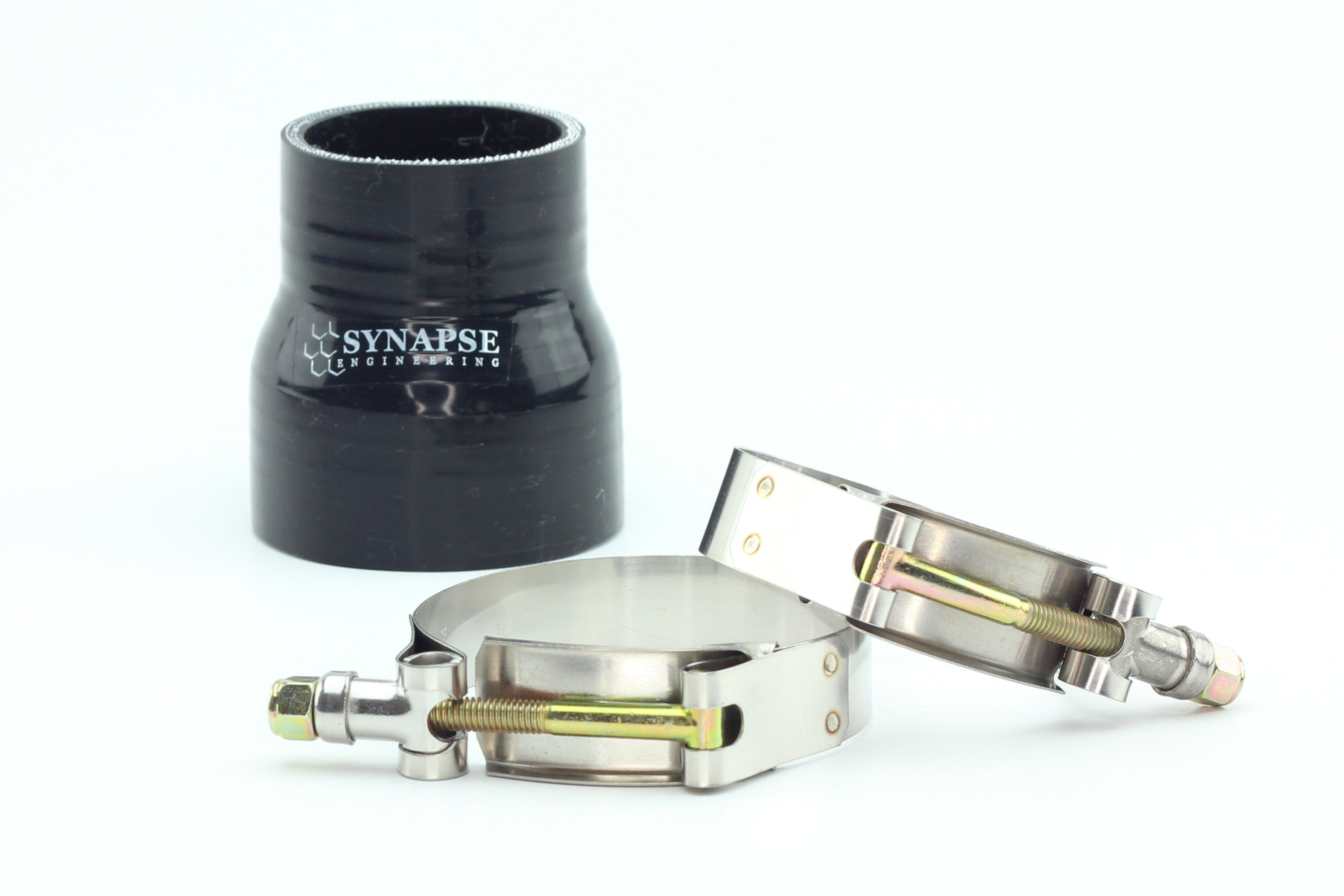 """Silicone Straight Reducer Coupler 2"""" to 2.5"""""""