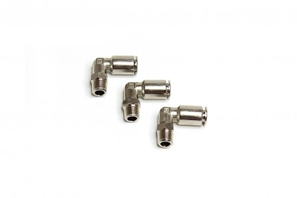 "Hi Temp 90° 1/8"" NPT Fitting (3 piece pack)"