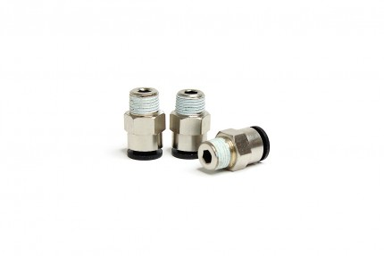 "Low Temp Straight 1/8"" NPT Fitting (3 piece pack)"