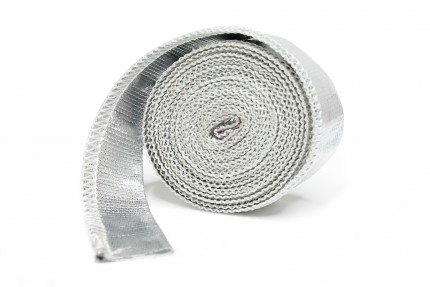 "Aluminized Thermal Heat Sleeving 500°C - 5/8"" dia. x 8'"