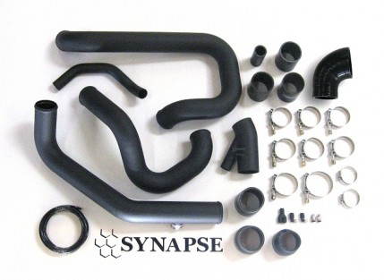 Evo 8/9 IC Pipe Kit - Powder Coated Black