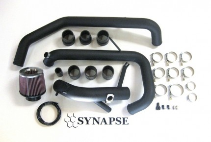 Evo X GSR IC Pipe Kit - Black Powdercoat (GSR ONLY!)