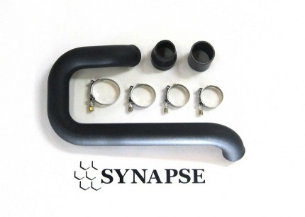 Evo 8/9 Lower IC Pipe Kit - Black Powdercoat