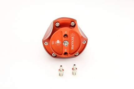 R55V Trident Synchronic Radial BOV (Orange) No Flanges