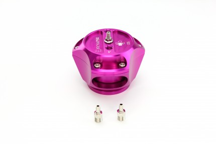 R55V Trident Synchronic Radial BOV (Purple) No Flanges