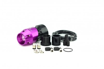Mitsubishi Eclipse GST/GSX 1995-1999, Evo 6 and Eagle Talon TSi 1995-1999 Synchronic BOV Kit Purple/Black BOV