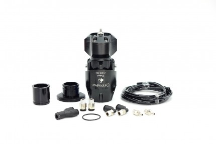Synchronic BOV Kit to replace HKS SSQV - Black/Black BOV