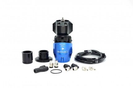 Synchronic BOV Kit to replace HKS SSQV - Blue/Black BOV