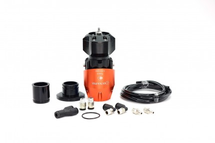 Synchronic BOV Kit to replace HKS SSQV - Orange/Black BOV