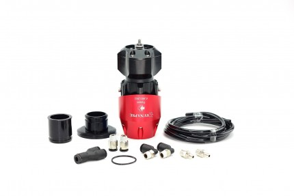 SB001F.KIT024 Red/Black SB BOV for HKS SSQV BOV