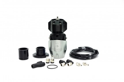 Synchronic BOV Kit to replace HKS SSQV - Silver/Black BOV