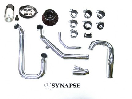 Evo 8/9 IC Pipe Kit with BOV - Polished Aluminum