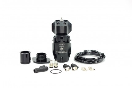 Synchronic BOV Kit to replace GReddy - Black/Black BOV