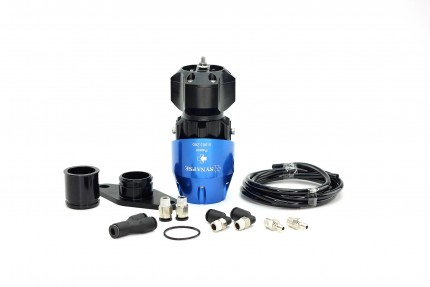 Mazdaspeed3 2007-2013 and Mazdaspeed6 2005-2007 Synchronic BOV Kit Blue/Black BOV