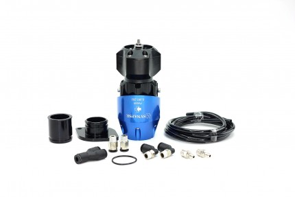 Synchronic BOV Kit to replace GReddy - Blue/Black BOV