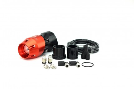 Mitsubishi Evo 8/9/X Synchronic BOV Kit Orange/Black BOV