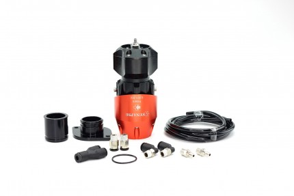 Synchronic BOV Kit to replace GReddy - Orange/Black BOV