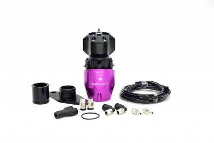 Subaru WRX 2008+ Synchronic BOV Kit Purple/Black BOV
