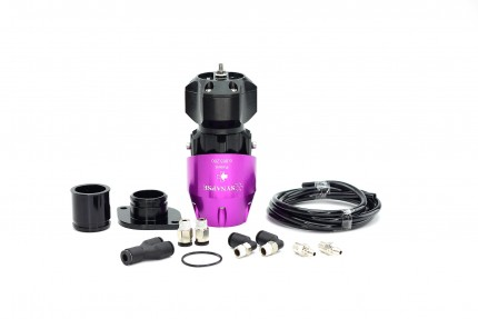 Synchronic BOV Kit to replace GReddy - Purple/Black BOV