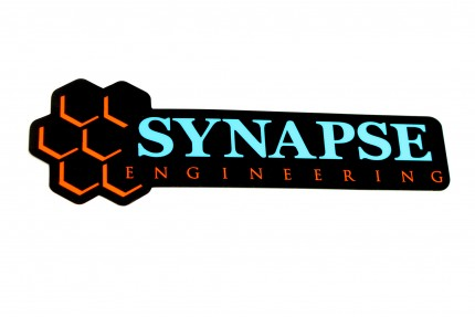 Synapse Logo Sticker - Black